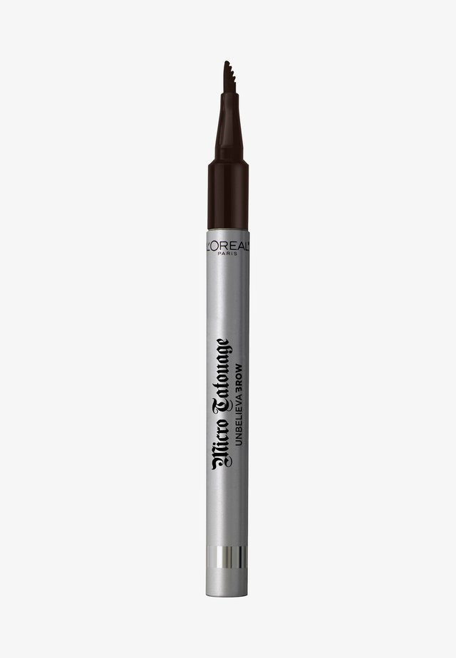 UNBELIEVA BROW MICRO TATOUAGE - Augenbrauenstift - 109 ebony