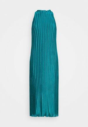 PLISSE DRESS - Společenské šaty - emerald