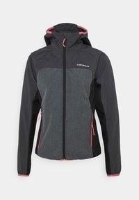 Icepeak - DECORAH - Soft shell jacket - granite - 0