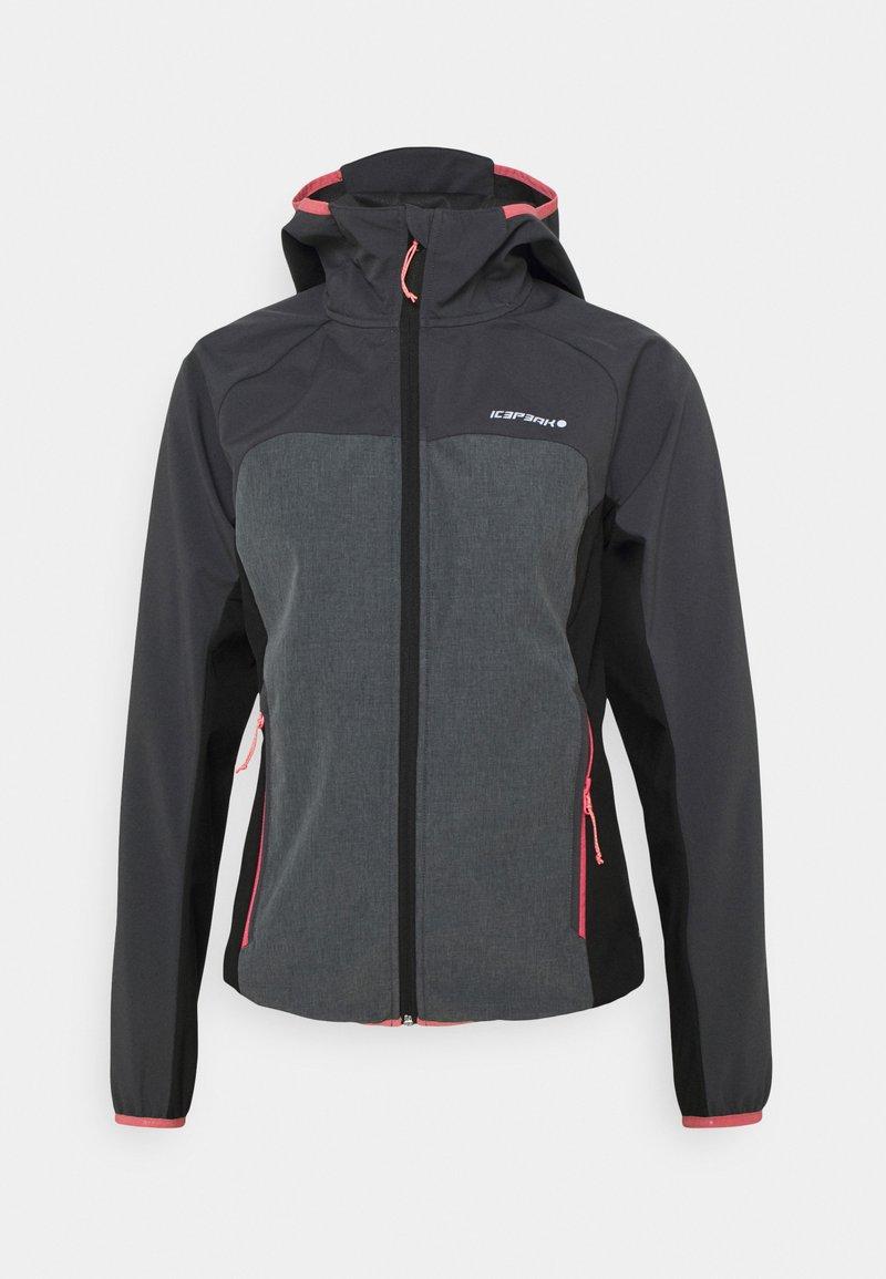 Icepeak - DECORAH - Soft shell jacket - granite