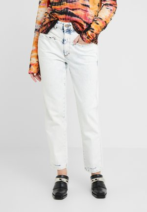 PEDAL PUSHER  HIGH WAIST CROPPED LENGTH - Relaxed fit -farkut - extrem light