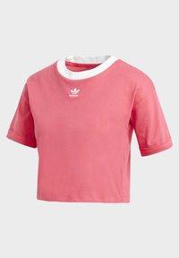 adidas Originals - CROP TOP - Basic T-shirt - pink - 3