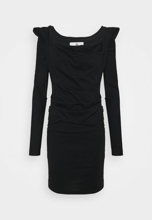 ELIZABETH DRESS - Jersey dress - black