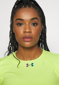 Under Armour - RUSH CREW - Long sleeved top - lime fizz - 3