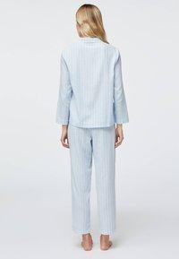 OYSHO - Pyjama bottoms - light blue - 2