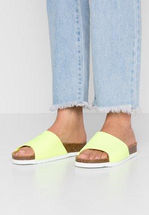 BOWAX - Pantofle - jaune fleu