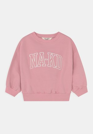 ORGANIC PRINTED CREWNECK - Sweater - dusty rose