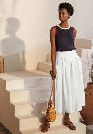 LYDIA - A-line skirt - weiß