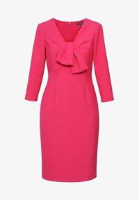 Hexeline - Sukienka etui - różowa - 0