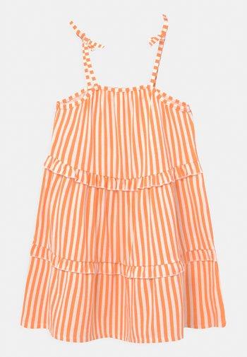 NKFFAGMAR STRAP - Jersey dress - cantaloupe