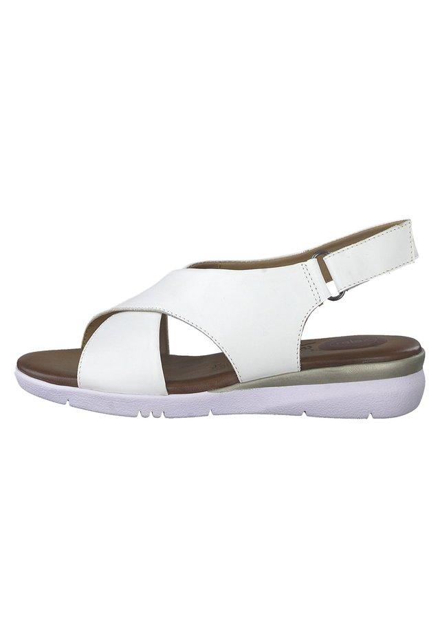 JANA - Sandalias de senderismo - white