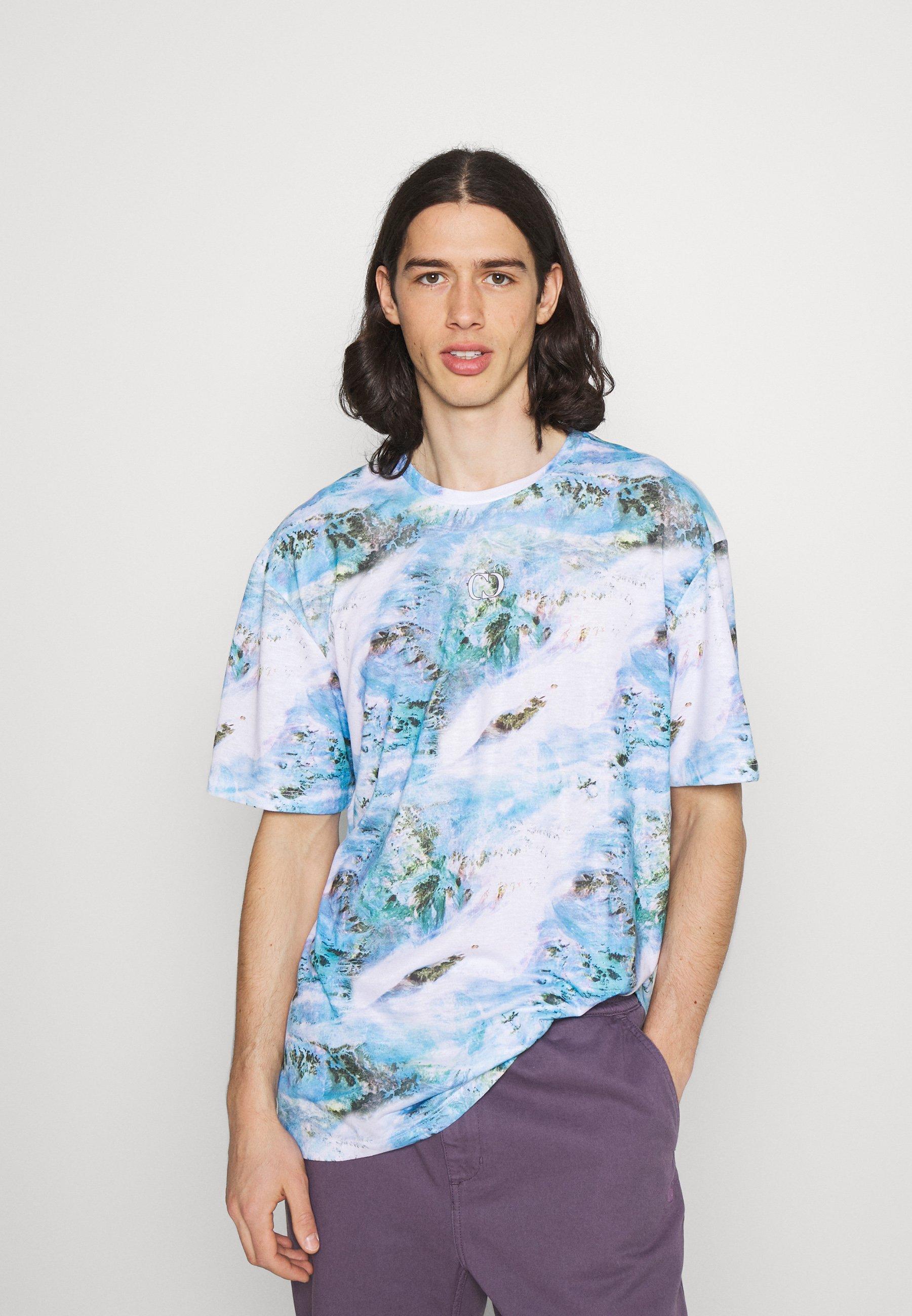 Men TOXIC TEXTURE TEE - Print T-shirt