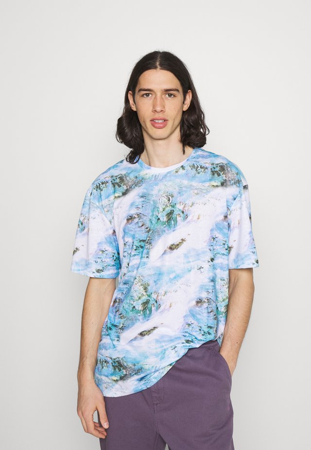 TOXIC TEXTURE TEE - T-shirt con stampa - multi
