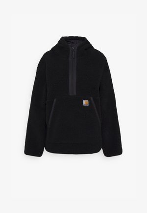HOODED LOON LINER - Winter jacket - black