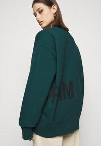 MM6 Maison Margiela - Sweatshirt - duck green - 5