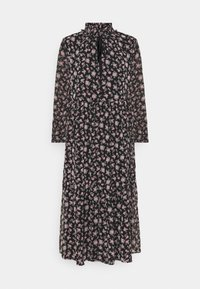 VMFILIA TIE CALF DRESS - Day dress - black/rose