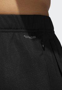 adidas Performance - RUN ASTRO 3-STRIPES TIGHTS - Tracksuit bottoms - black - 6