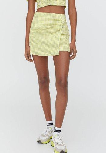 A-line skirt - light green