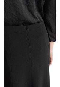 Marc Cain - A-line skirt - black - 1