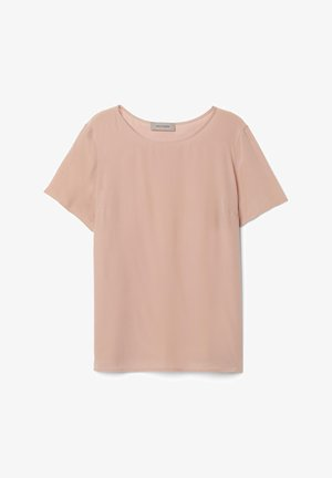 Basic T-shirt - rosa - tea rose