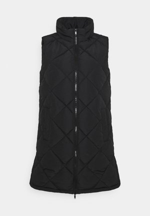 NMFALCON LONG VEST - Vest - black