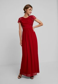 TFNC - PEARLY MAXI - Společenské šaty - burgundy - 2