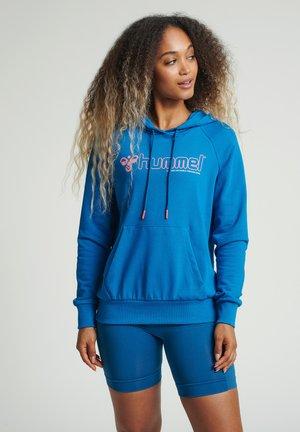 Bluza z kapturem - mykonos blue