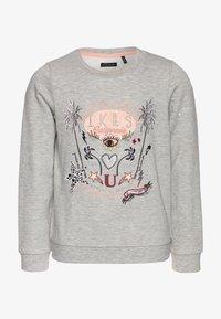 IKKS - Sweatshirt - gris chiné moyen - 0