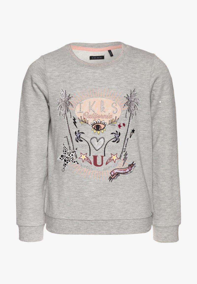 IKKS - Sweatshirt - gris chiné moyen