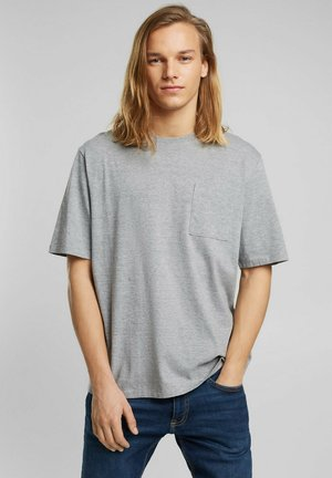 T-shirt - bas - medium grey