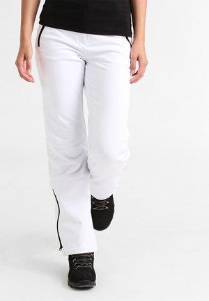 RIKSU - Długie spodnie trekkingowe - white