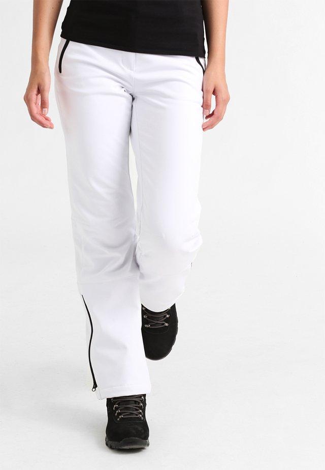 RIKSU - Pantalons outdoor - white