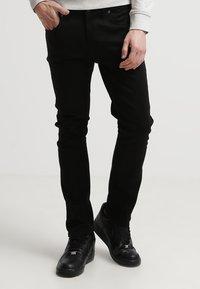 Nudie Jeans - LEAN DEAN - Slim fit jeans - dry cold black - 1