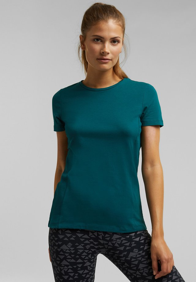 T-shirt basique - dark teal green