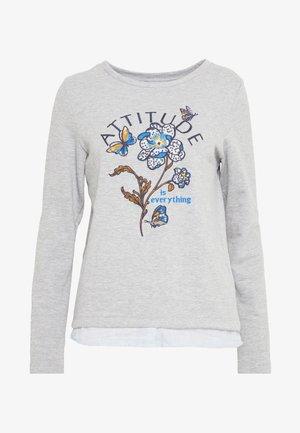 BIMAT FLOR POSICIONAL - Sweatshirt - greys