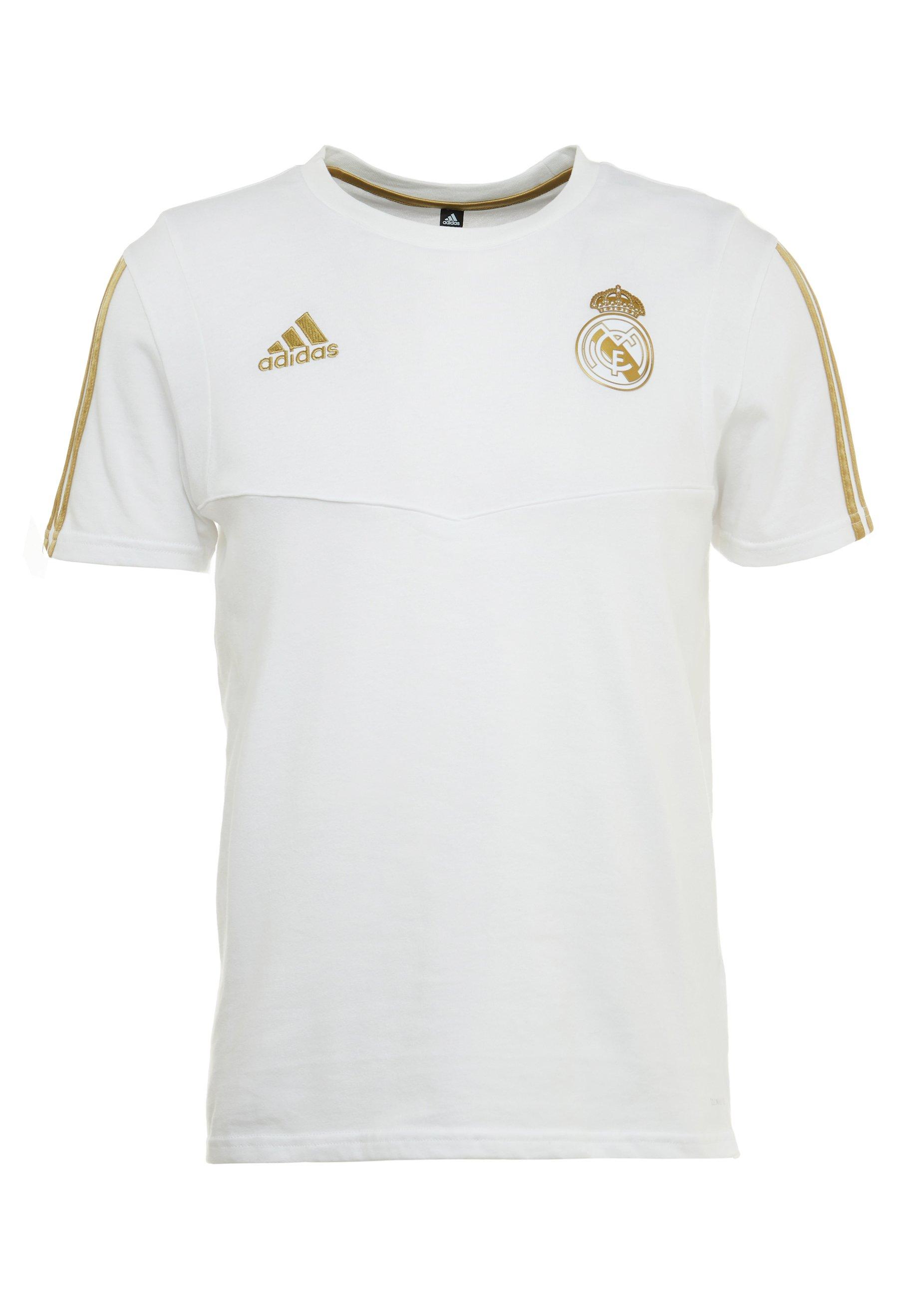 REAL MADRID TEE Klubbkläder whitegold