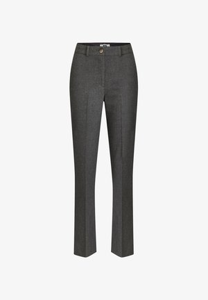 DAMES GEMÊLEERDE - Pantalon de costume - blended dark grey