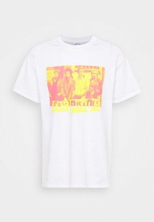 SEX PISTOLS GRAPHIC TEE - Print T-shirt - white