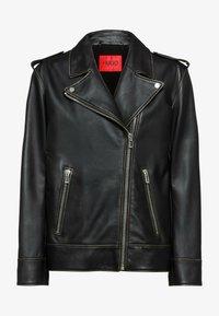 HUGO - LITSA - Leather jacket - black - 5
