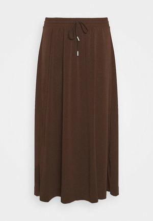 NABAI SKIRT - A-line skirt - coffee brown