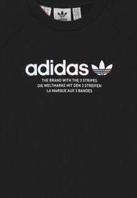 adidas Originals - TRI COLOUR CREW - Collegepaita - black - 2