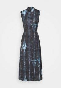 Never Fully Dressed Tall - HIGH NECK SLIP MIDI DRESS  - Day dress - navy/multi - 0