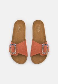 ONLY SHOES - ONLMAXI LIFE BUCKLE - Ciabattine - pink - 5