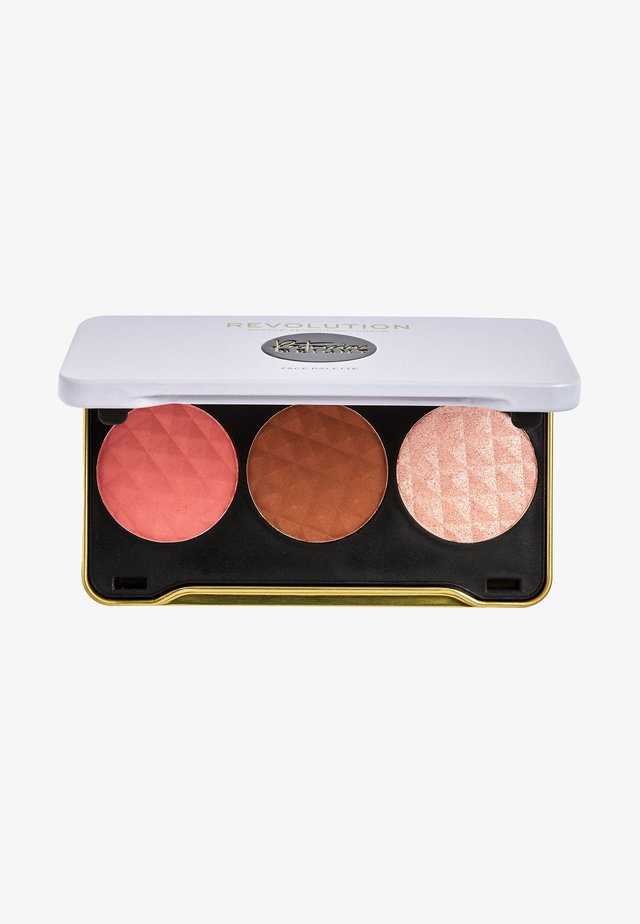 REVOLUTION X PATRICIA BRIGHT FACE PALETTE - Gezichtspalet - summer sunrise (light)