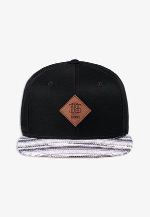 Cap - black/grey
