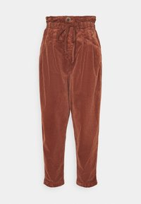 Free People - MARGATE TROUSER - Broek - gingerbread tea - 0