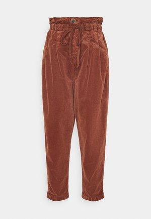 MARGATE TROUSER - Bukse - gingerbread tea