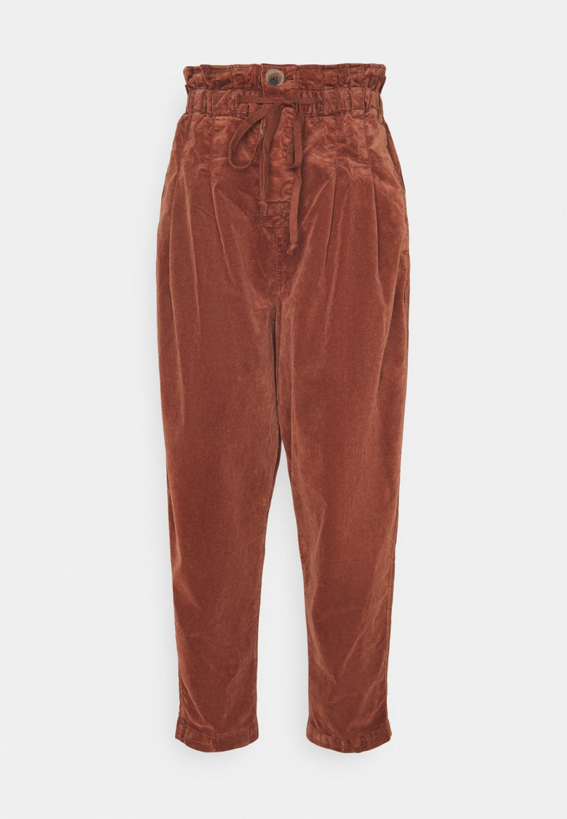 Free People - MARGATE TROUSER - Broek - gingerbread tea
