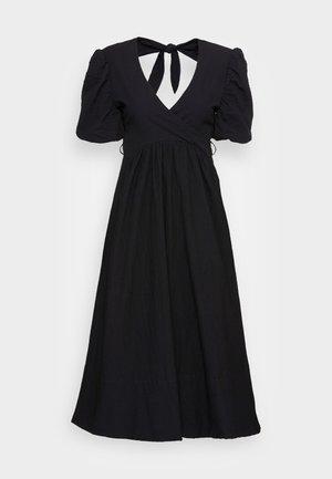LOLA DRESS - Denní šaty - black