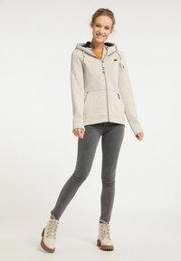 Schmuddelwedda - Fleece jacket - elfenbein melange - 1